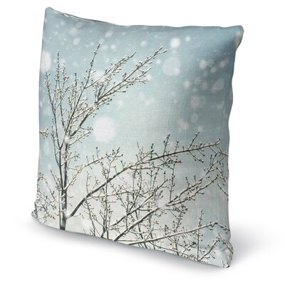 Icy Branches Accent Pillow Size: 16 H x 16 W x 5 D