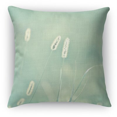 Ghostly Throw Pillow Size: 18 H x 18 W x 5 D, Color: Light Blue