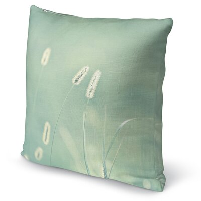 Ghostly Accent Pillow Size: 16 H x 16 W x 5 D, Color: Blue