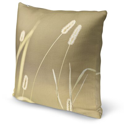 Ghostly Accent Pillow Size: 24 H x 24 W x 5 D, Color: Tan