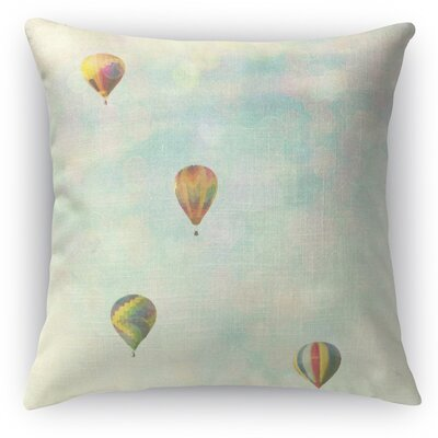 Floating Throw Pillow Size: 16 H x 16 W x 5 D