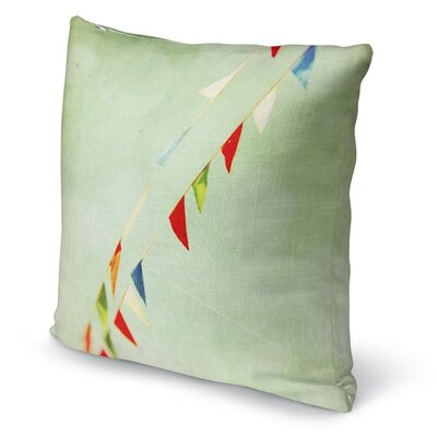 Flags Throw Pillow Size: 18 H x 18 W x 5 D