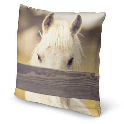 Equine Accent Pillow Size: 16 H x 16 W x 5 D