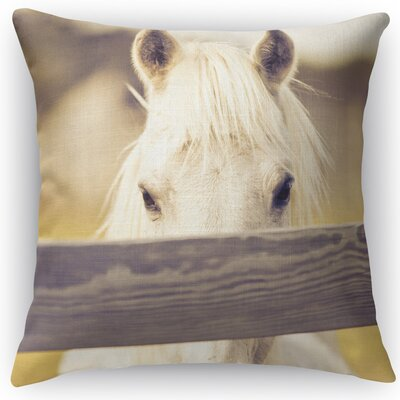 Equine Throw Pillow Size: 16 H x 16 W x 5 D