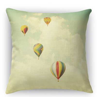 Drifting Throw Pillow Size: 18 H x 18 W x 5 D