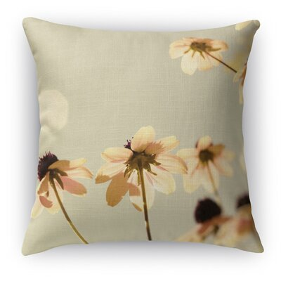 Delicate Throw Pillow Size: 24 H x 24 W x 5 D