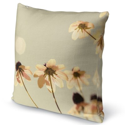 Delicate Accent Pillow Size: 16 H x 16 W x 5 D