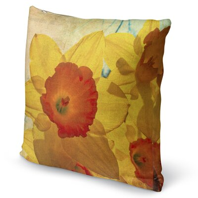 Daffodil Accent Pillow Size: 16 H x 16 W x 5 D