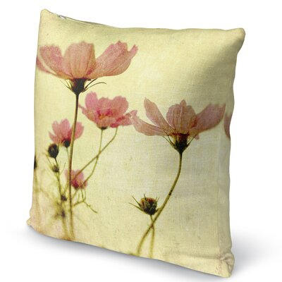 Cosmos Accent Pillow Size: 16 H x 16 W x 5 D