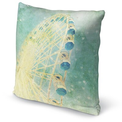 Carnival Love Accent Pillow Size: 24 H x 24 W x 5 D
