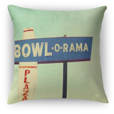 Bowl O Rama Throw Pillow Size: 18 H x 18 W x 5 D