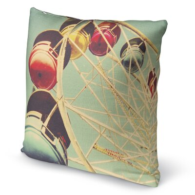 1971 Accent Pillow Size: 24 H x 24 W x 5 D