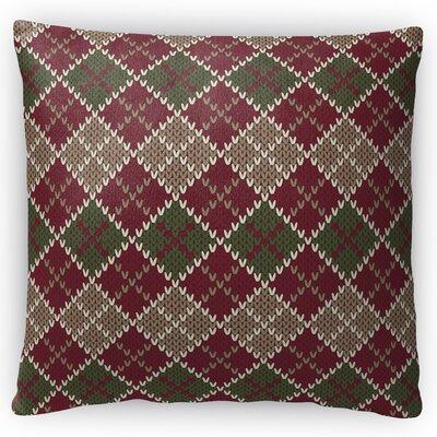 Mollien Throw Pillow Size: 18 H x 18 W x 4 D