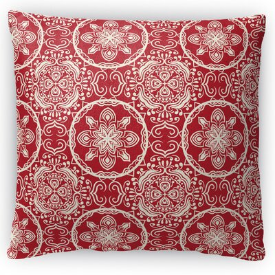 Christmas in Plaid Throw Pillow Size: 16 H x 16 W x 4 D
