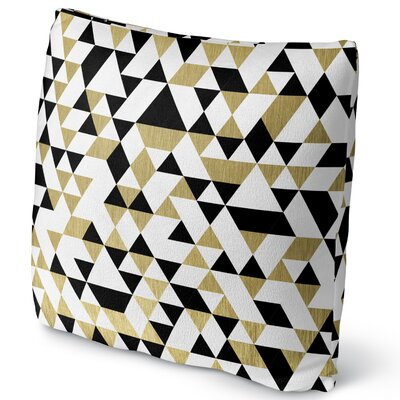Fleece Throw Pillow Size: 18 H x 18 W x 4 D
