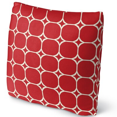 Fleece Throw Pillow Size: 16 H x 16 W x 4 D