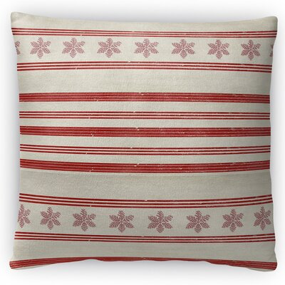 Mollien Stripes Throw Pillow Size: 18 H x 18 W x 4 D