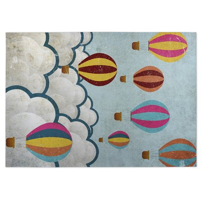 Up Doormat Rug Size: 8 x 10
