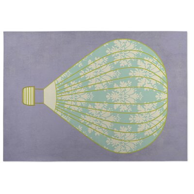 Hot Air Balloon Doormat Mat Size: Square 8