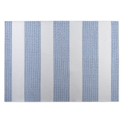 Centerville Doormat Color: Blue, Rug Size: Square 8
