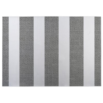 Centerville Doormat Color: Charcoal, Rug Size: 5 x 7