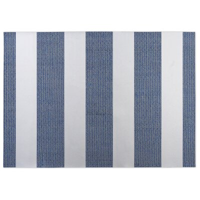 Centerville Doormat Color: Gray/Blue, Rug Size: 5 x 7