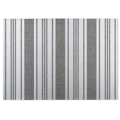 Sagamore Doormat Color: Gray, Rug Size: 4 x 5