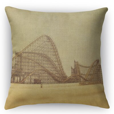Tollison Accent Pillow Size: 18 H x 18 W x 5 D, Color: Brown