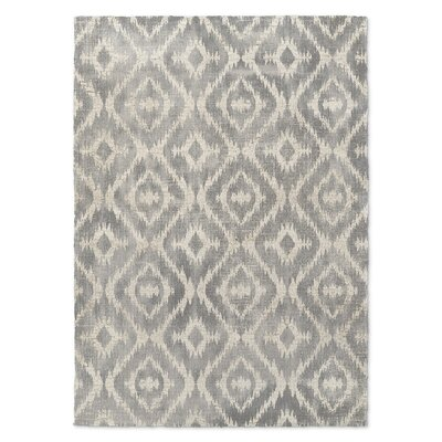Laplant Gray Area Rug Rug Size: Rectangle 8 x 10