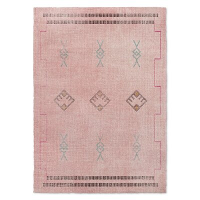 Dishman Pink/Blue Area Rug Rug Size: 8 x 10