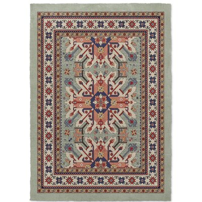 Cabo Light Green Area Rug Rug Size: 5 x 7