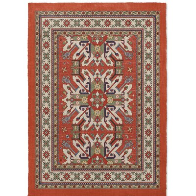Cabo Rust Area Rug Rug Size: 5 x 7