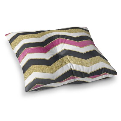 Chevron Floor Pillow Size: 23 H x 23 W