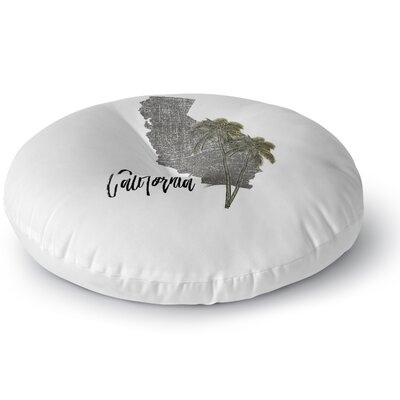 California Floor Pillow Size: 23 H x 23 W