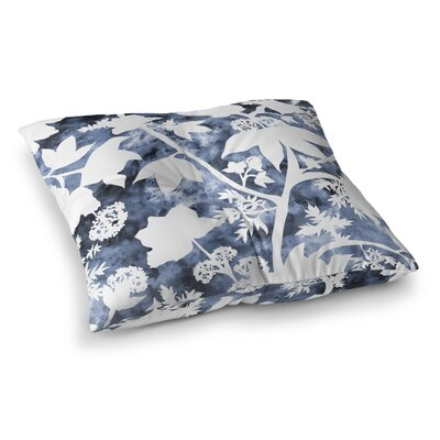 Arin Floral Square Floor Pillow Size: 23 H x 23 W