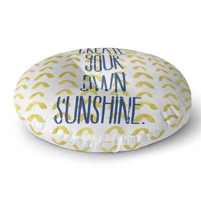 Ashlyn Indoor/Outdoor Floor Pillow Size: 23 H x 23 W