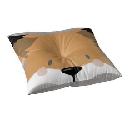 Fox Floor Pillow Size: 26 H x 26 W