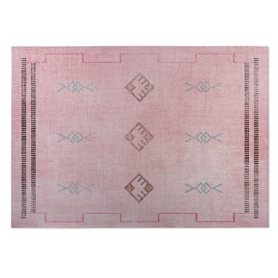 Pernille Pink/Blue Indoor/Outdoor Area Rug Rug Size: Square 8