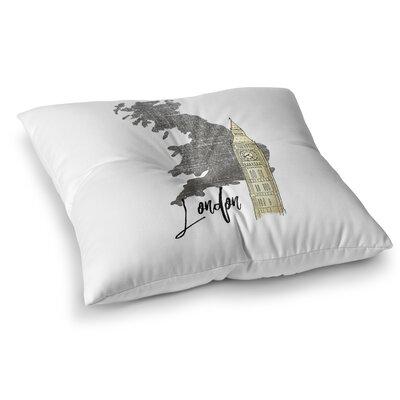 London2 Floor Pillow Size: 23 H x 23 W