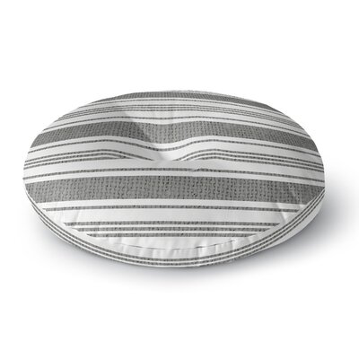 Sagamore Floor Pillow Size: 26 H x 26 W, Color: Gray
