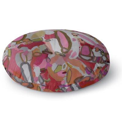 Pretty Pink Pills Floor Pillow Size: 23 H x 23 W