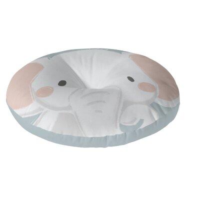 Elephant Floor Pillow Size: 26 H x 26 W