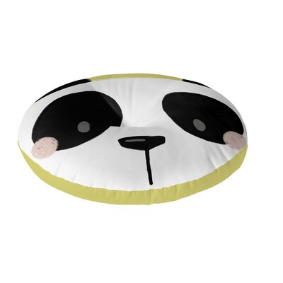 Panda Floor Pillow Size: 26 H x 26 W