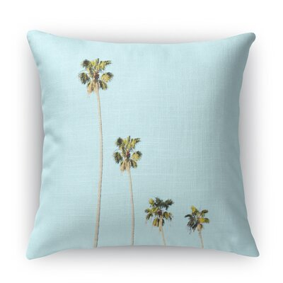 Four Palms Throw Pillow Size: 18 H x 18 W x 5 D