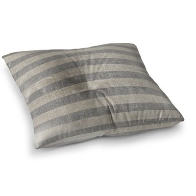 Faded Stripes Floor Pillow Size: 23 H x 23 W