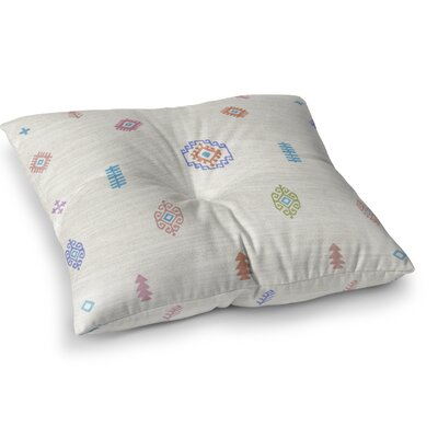 Floor Pillow Size: 23 H x 23 W, Color: Beige