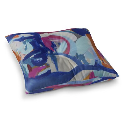 Waffle Rodeo Floor Pillow Size: 26 H x 26 W