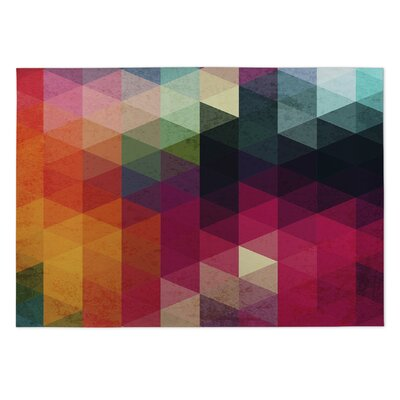 Many Colors Pink/Orange Indoor/Outdoor Area Rug Rug Size: Rectangle 4 x 5