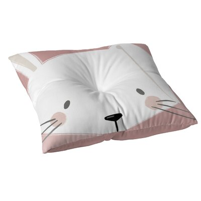 Bunny Floor Pillow Size: 23 H x 23 W