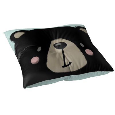 Bear Floor Pillow Size: 23 H x 23 W